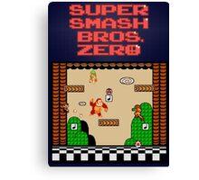 Super Smash Bros. Zero - Stage 1 - Retro Gaming Canvas Print