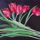 Tulips 2009 by Jos van de venne