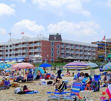 Summer Beach Fun - Rehoboth Beach Delaware by KevinsView