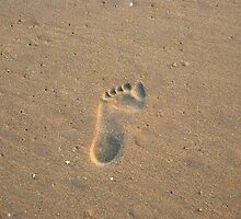 Footprints In The Sand by KevinsView