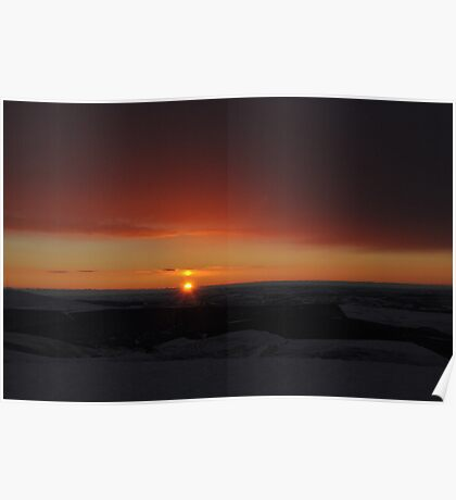 Winter Solstice Sunrise  Poster