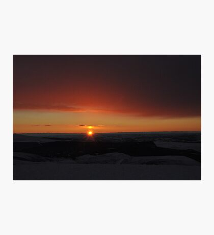 Winter Solstice Sunrise  Photographic Print
