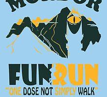Mordor FUN RUN by birthdaytees