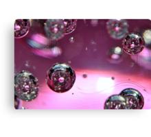 Pink Bubbles! Canvas Print