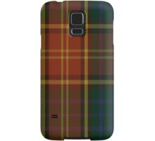 00352 Roscommon County District Tartan  Samsung Galaxy Case/Skin