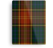 00352 Roscommon County District Tartan  Metal Print