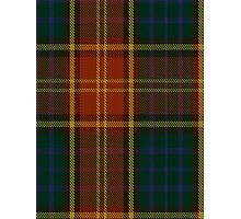 00352 Roscommon County District Tartan  Photographic Print