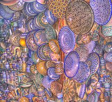 Moroccan pottery by XkeoP