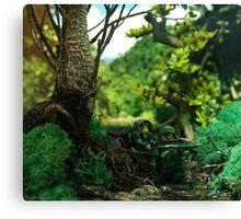 Jungle Spec op Canvas Print