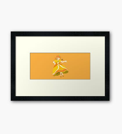 Peach (Daisy) - Super Smash Bros. Framed Print