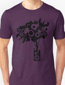 Funky Speaker Tree Unisex T-Shirt