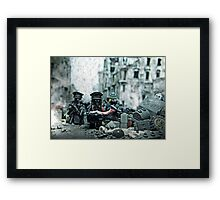 Weird War II German Framed Print
