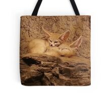 Fennec Fox Love Tote Bag