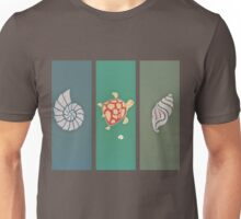 Turtle and Sea Shell T Shirt Unisex T-Shirt
