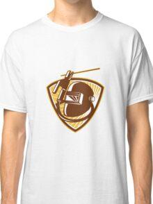 Welder Visor Welding Rod-Holder and Electrode Classic T-Shirt