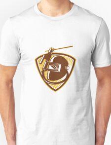 Welder Visor Welding Rod-Holder and Electrode Unisex T-Shirt