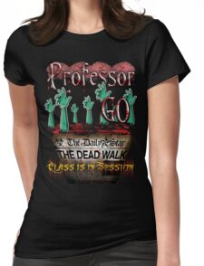 Professor GO Womens Fitted T-Shirt