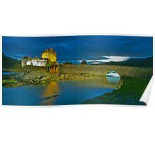 Surreal Castle Poster