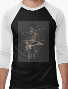 Holland Tunnel Guitarist Men's Baseball ¾ T-Shirt