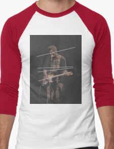 Holland Tunnel Guitarist Men's Baseball ¾ T-Shirt