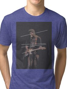 Holland Tunnel Guitarist Tri-blend T-Shirt