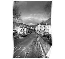Village of Dunkeld - BW Poster