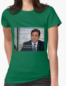 michael scott quote  Womens Fitted T-Shirt