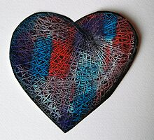 Woven Heart by Jak Savage (aka Unbeknown)