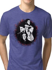 Supernatural - Heaven, Earth, and Hell Tri-blend T-Shirt