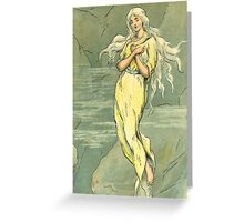 ice maiden by chester loomis Greeting Card