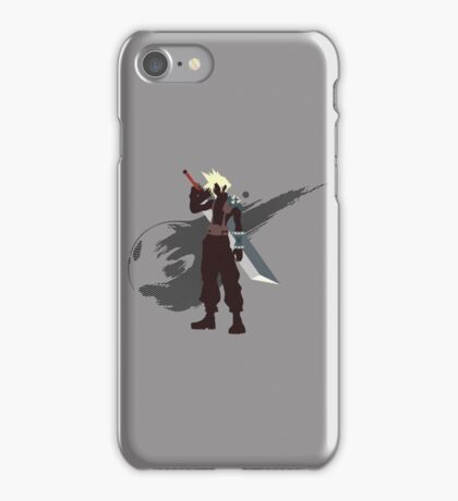 Cloud Strife - Sunset Shores iPhone Case/Skin