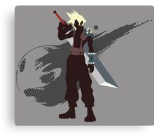 Cloud Strife - Sunset Shores Canvas Print