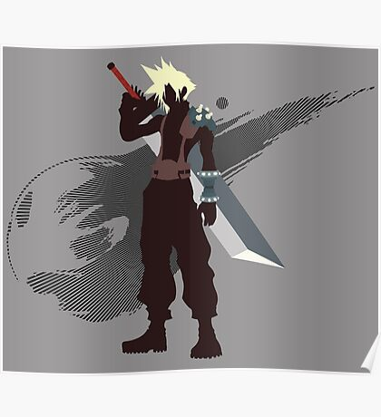 Cloud Strife - Sunset Shores Poster