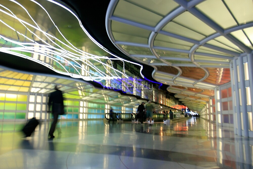 The People Mover Corridor by Kate Purdy
