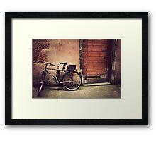 Lyon Vintage Bicycle  Framed Print