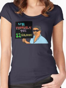 Frank Chu & the 12 Galaxies Women's Fitted Scoop T-Shirt