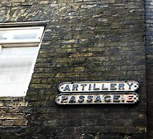 Artillery Passage, London by Holly Burns