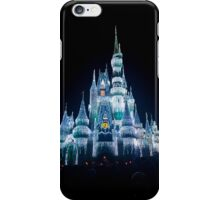 Christmas Castle At Night iPhone Case/Skin