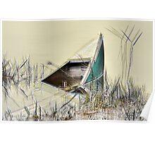 Sunken Canoe Poster