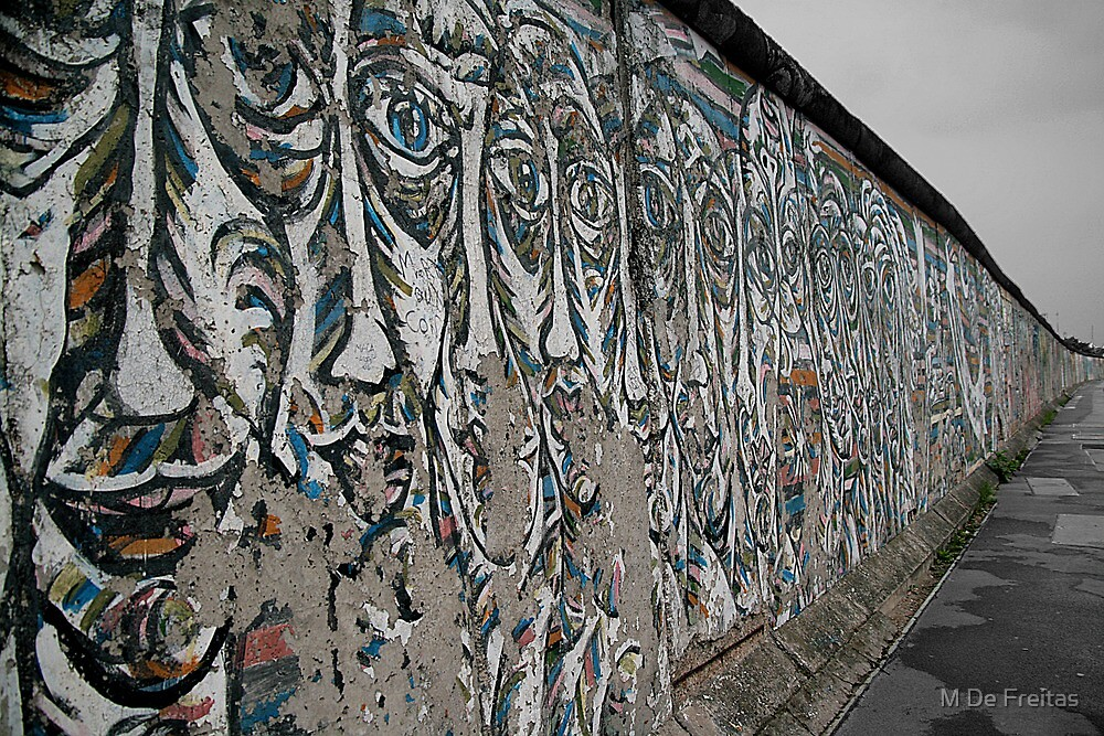 Berlin Wall, Germany by Miguel De Freitas