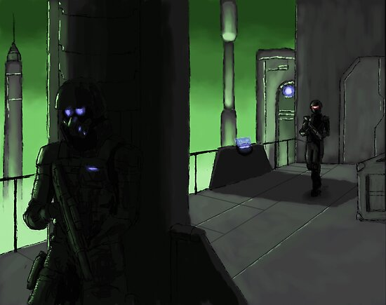 Stealth on the Docks by Redustheriotact