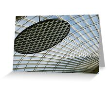 Reflector, Kibble Palace Greeting Card