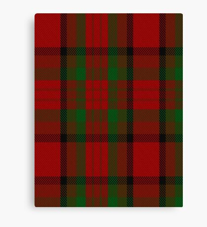 00356 Tipperary County District Tartan  Canvas Print