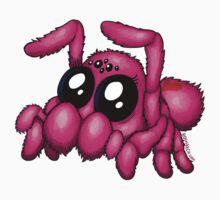 Cute Pink Spider by bogleech