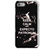 Keep Calm and Expecto Patronum - Glowing Stag iPhone Case/Skin