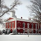 Courthouse in the Snow by Susan S. Kline