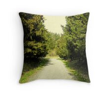 venire per una passeggiata con me Throw Pillow