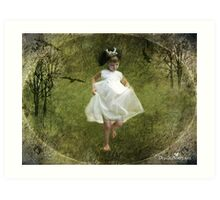 Run, Princess, run...! Art Print