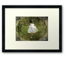 Run, Princess, run...! Framed Print