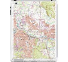 USGS Topo Map Oregon Eugene East 279827 1967 24000 iPad Case/Skin